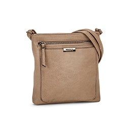 Roots Women's R5730 taupe crossbody bag