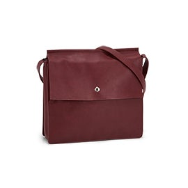 Roots Women's R5736 burgundy crossbody bag