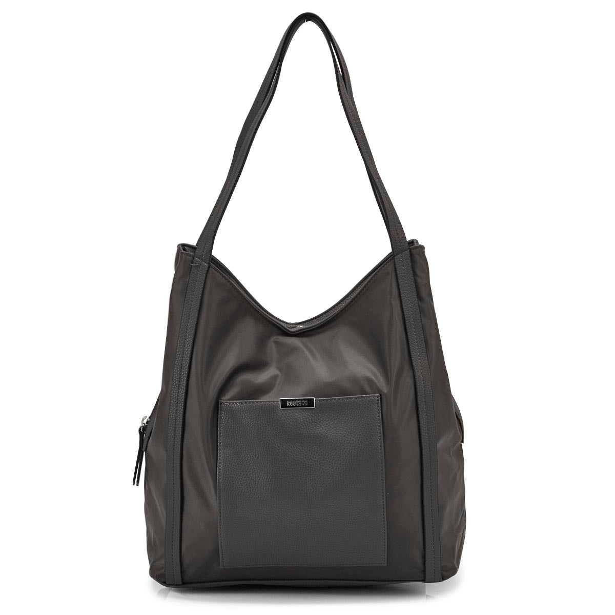 Lds Roots73 grey 3 compartment satchel