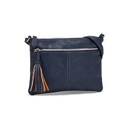 Roots Women's R5741 denim crossbody bag
