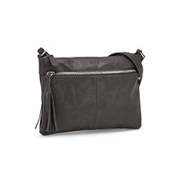 Roots Women's R5741 grey crossbody bag