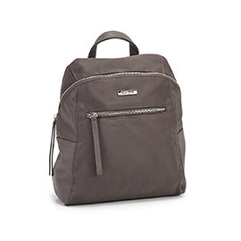 Roots Women's R5751 taupe mini backpack