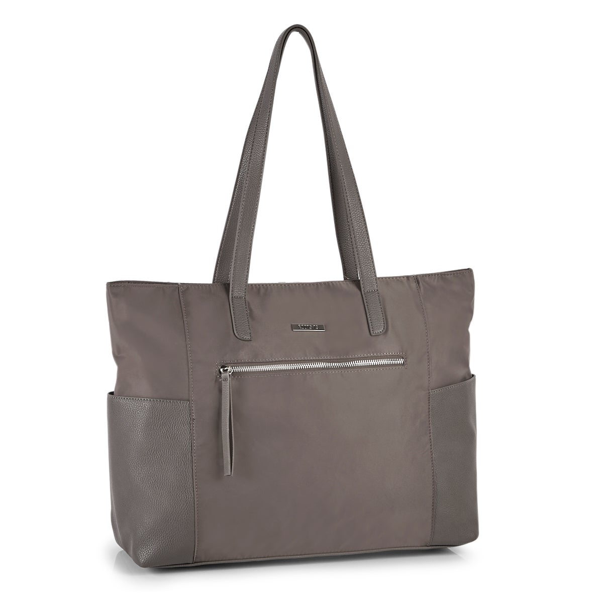 Lds Roots73 taupe business satchel