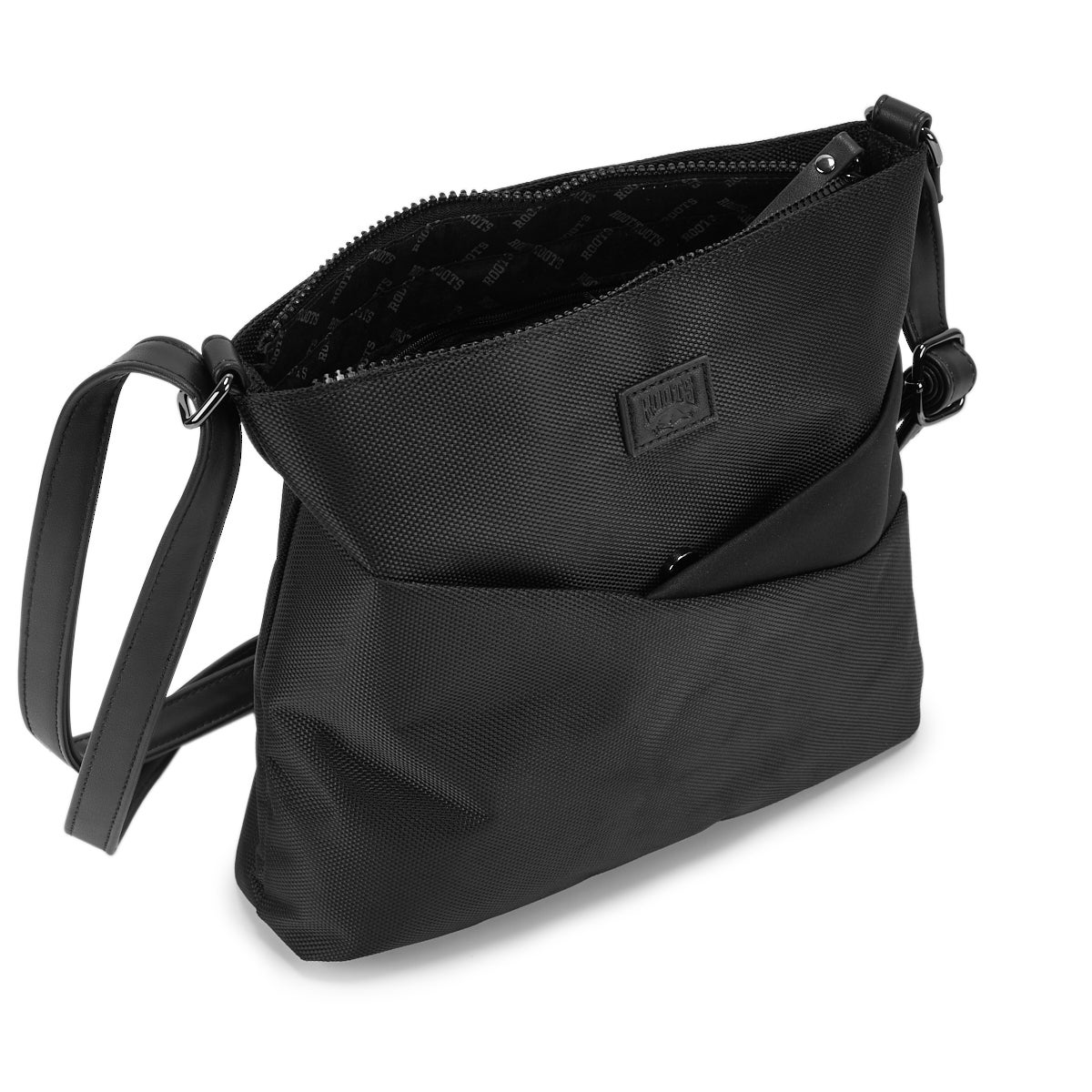 Lds Roots73 black north south crossbody