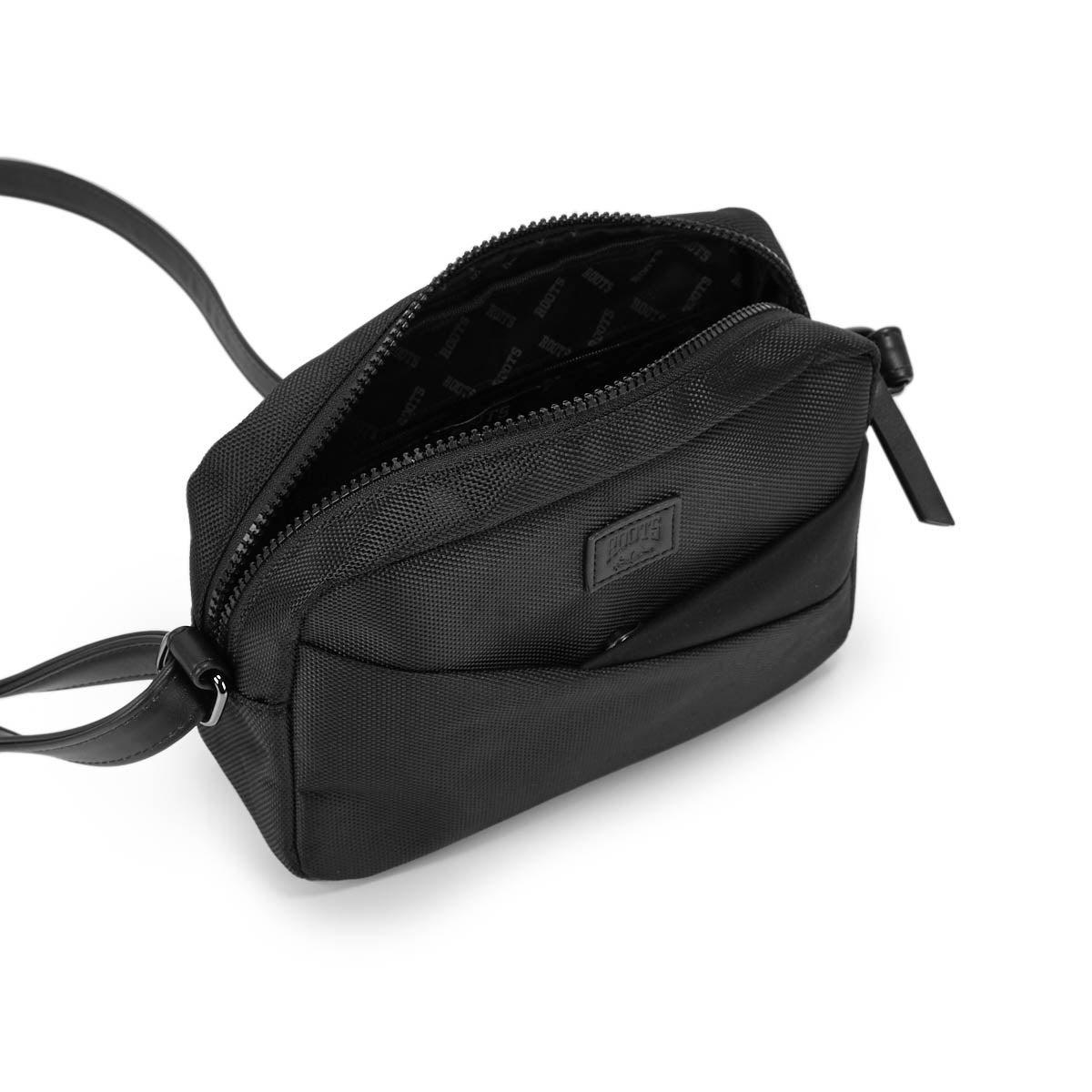 Lds Roots73 black crossbody camera bag