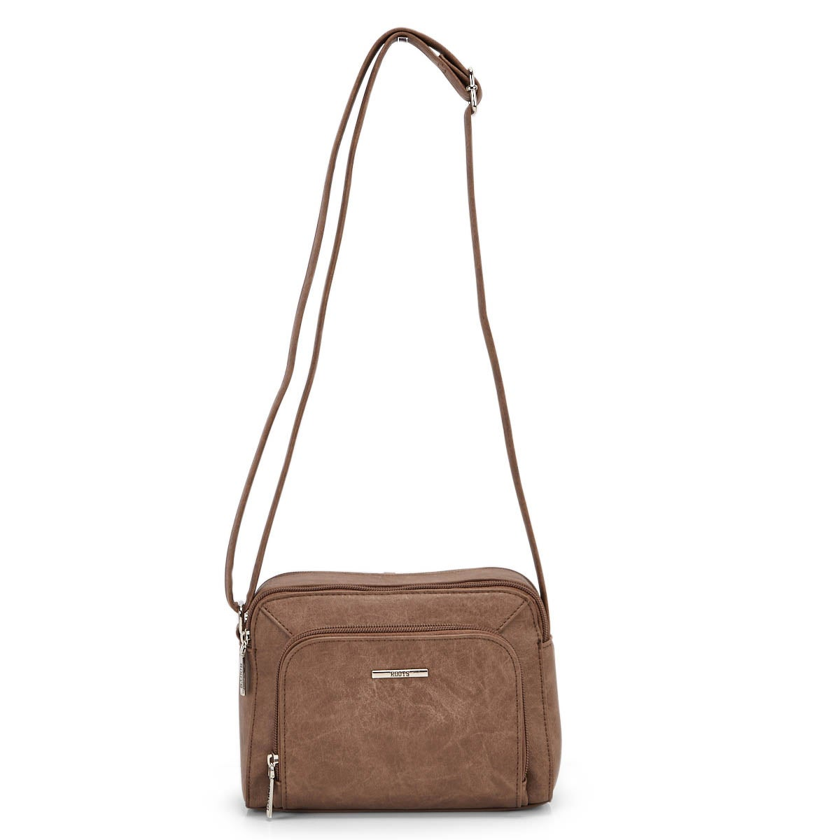 Lds Roots73 camel crossbody camera bag