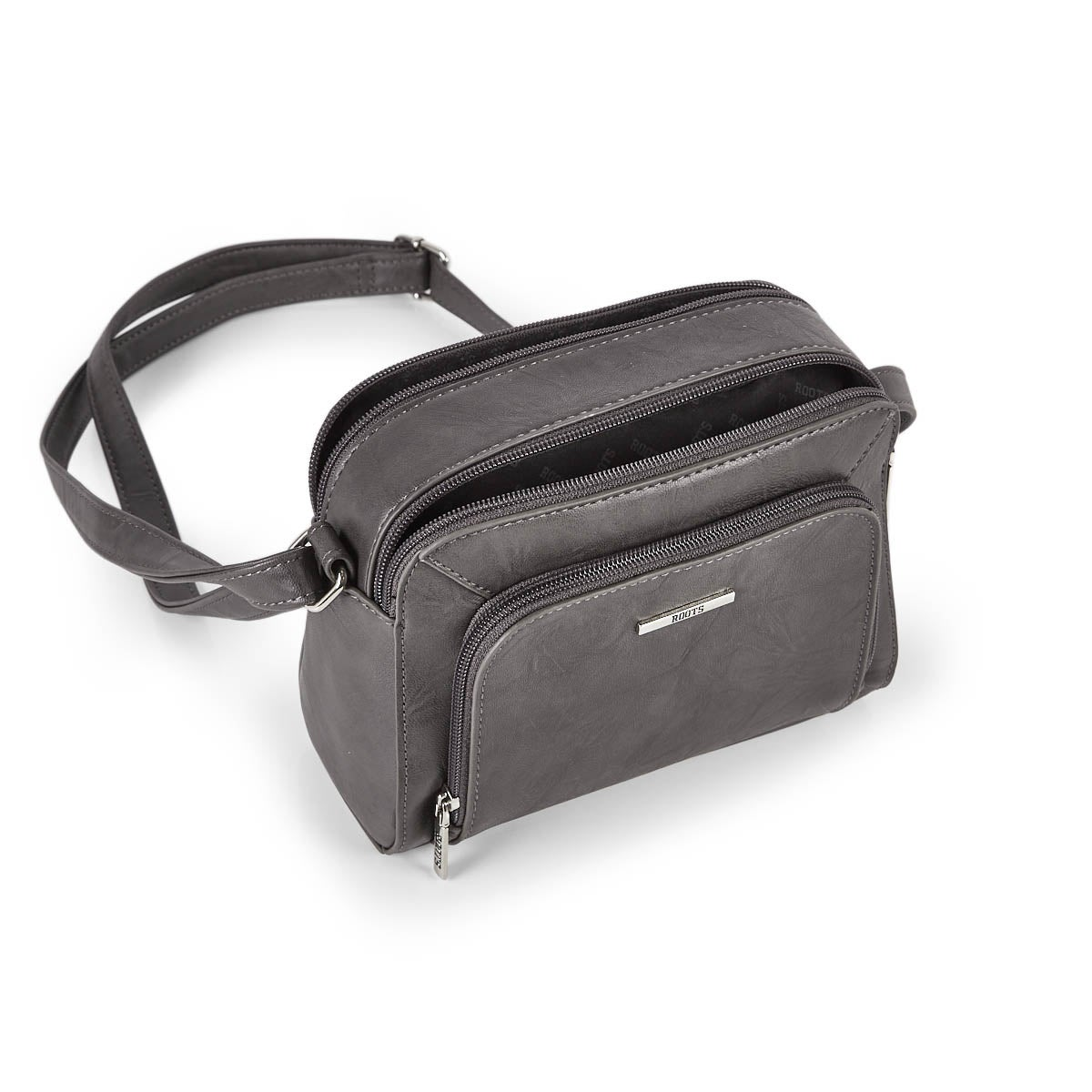 Lds Roots73 grey crossbody camera bag