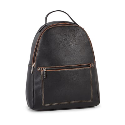 Roots Women's R5783 black painted edge back pack