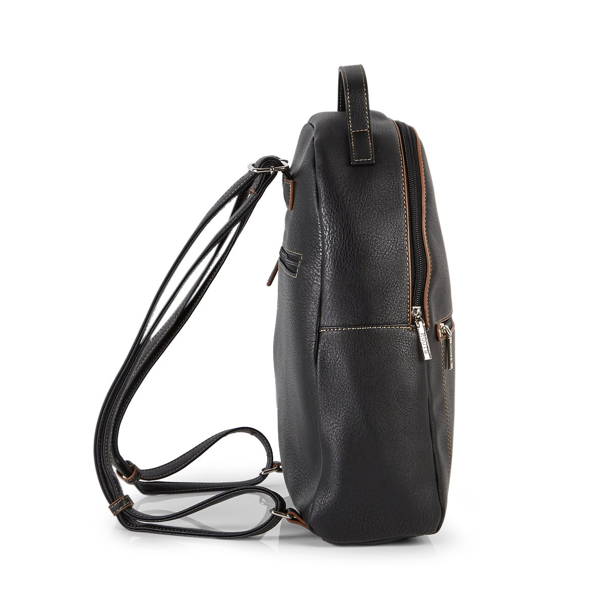 Lds Roots73 black painted edge backpack