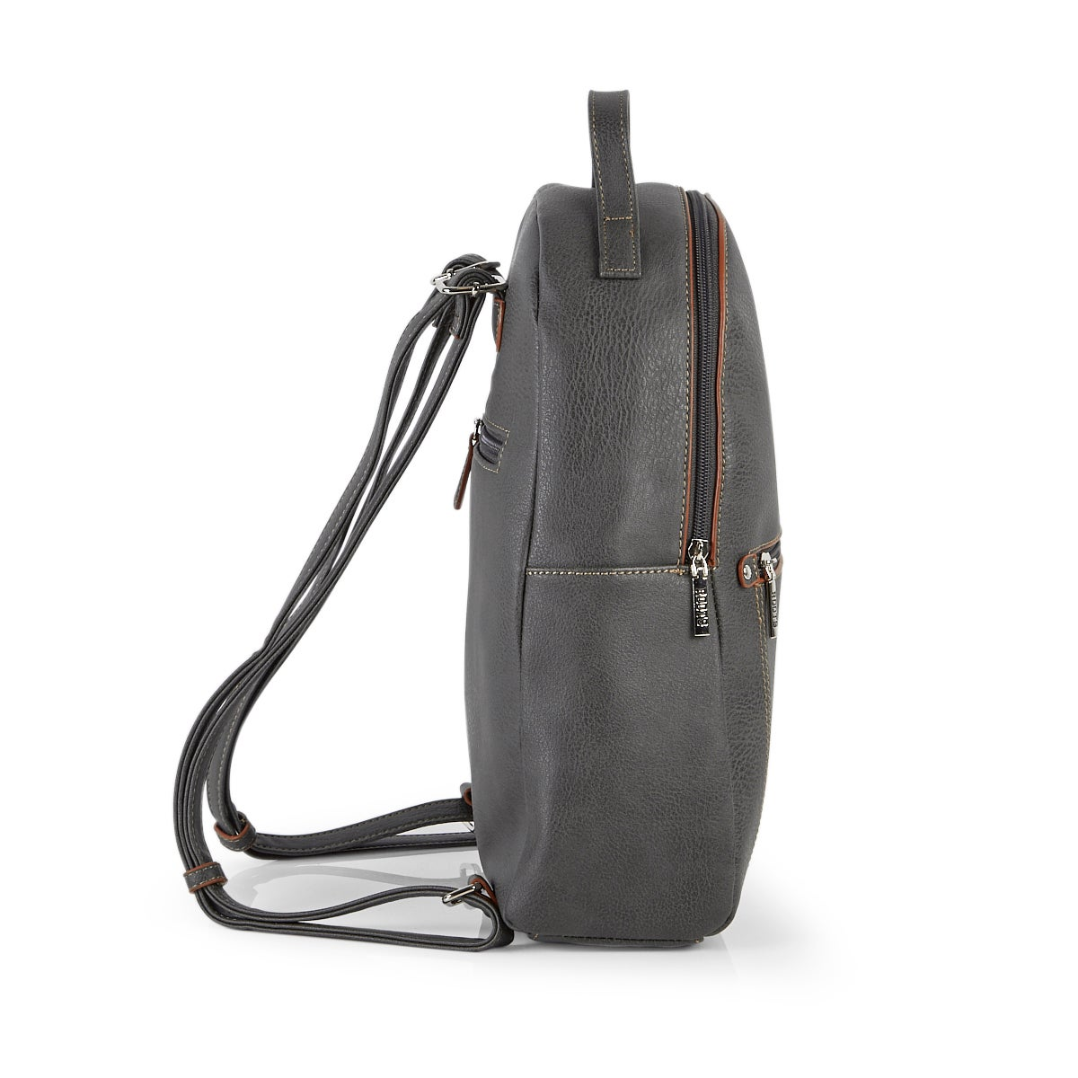 Lds Roots73 grey painted edge backpack