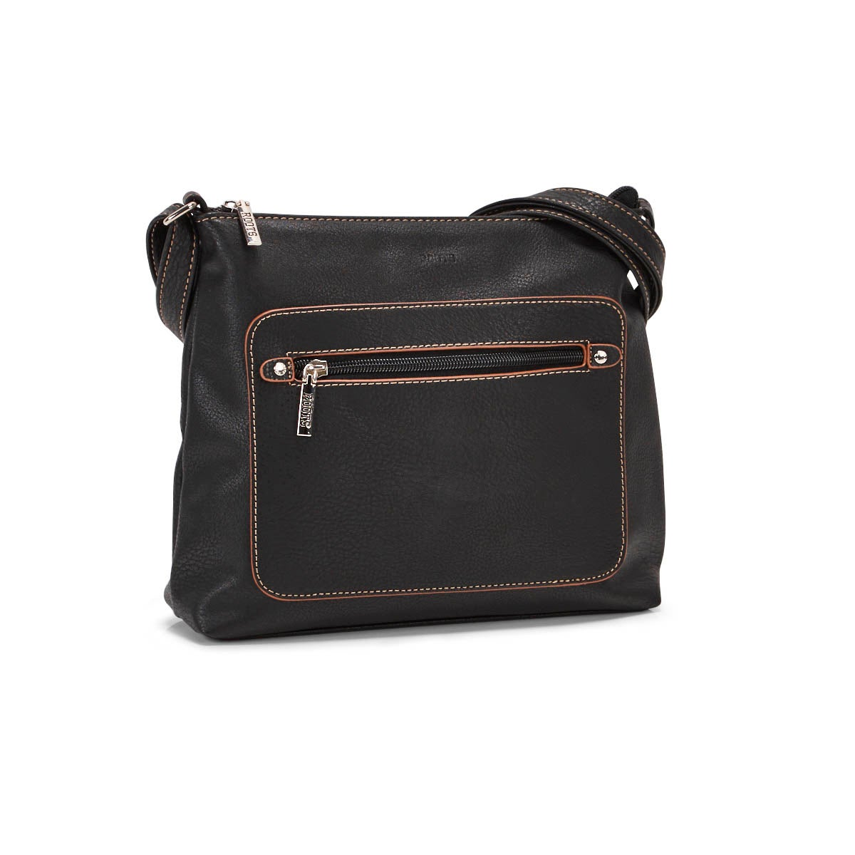 Lds Roots73 black painted edge crossbody