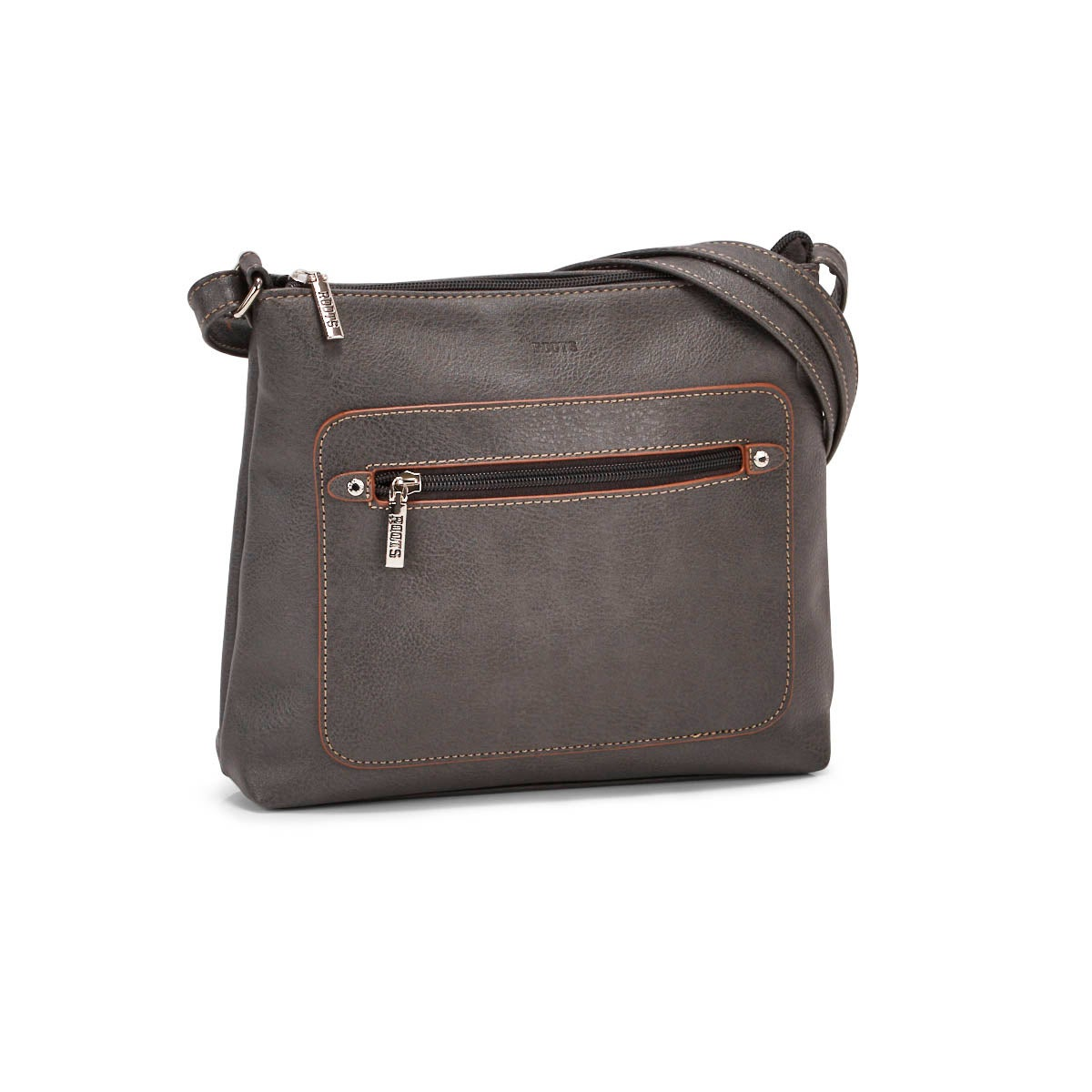 Lds Roots73 grey painted edge crossbody