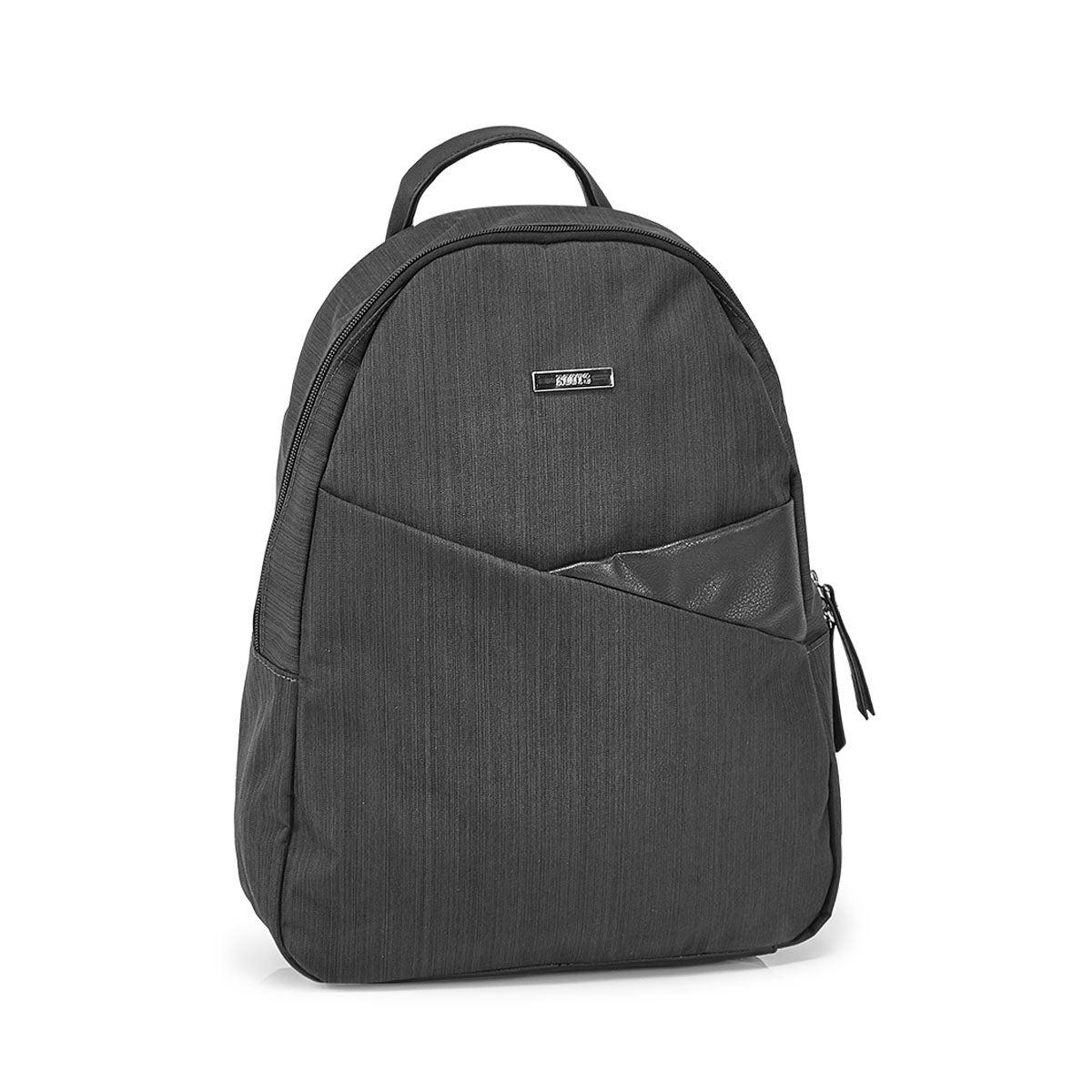 Lds Roots73 blk cross dye mini backpack