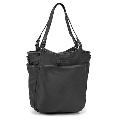 Roots Women's R5802 black muli pocket satchel