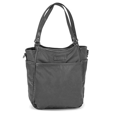 Roots Women's R5802 grey muli pocket satchel