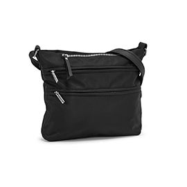 Roots Women's R5863 black crossbody bag
