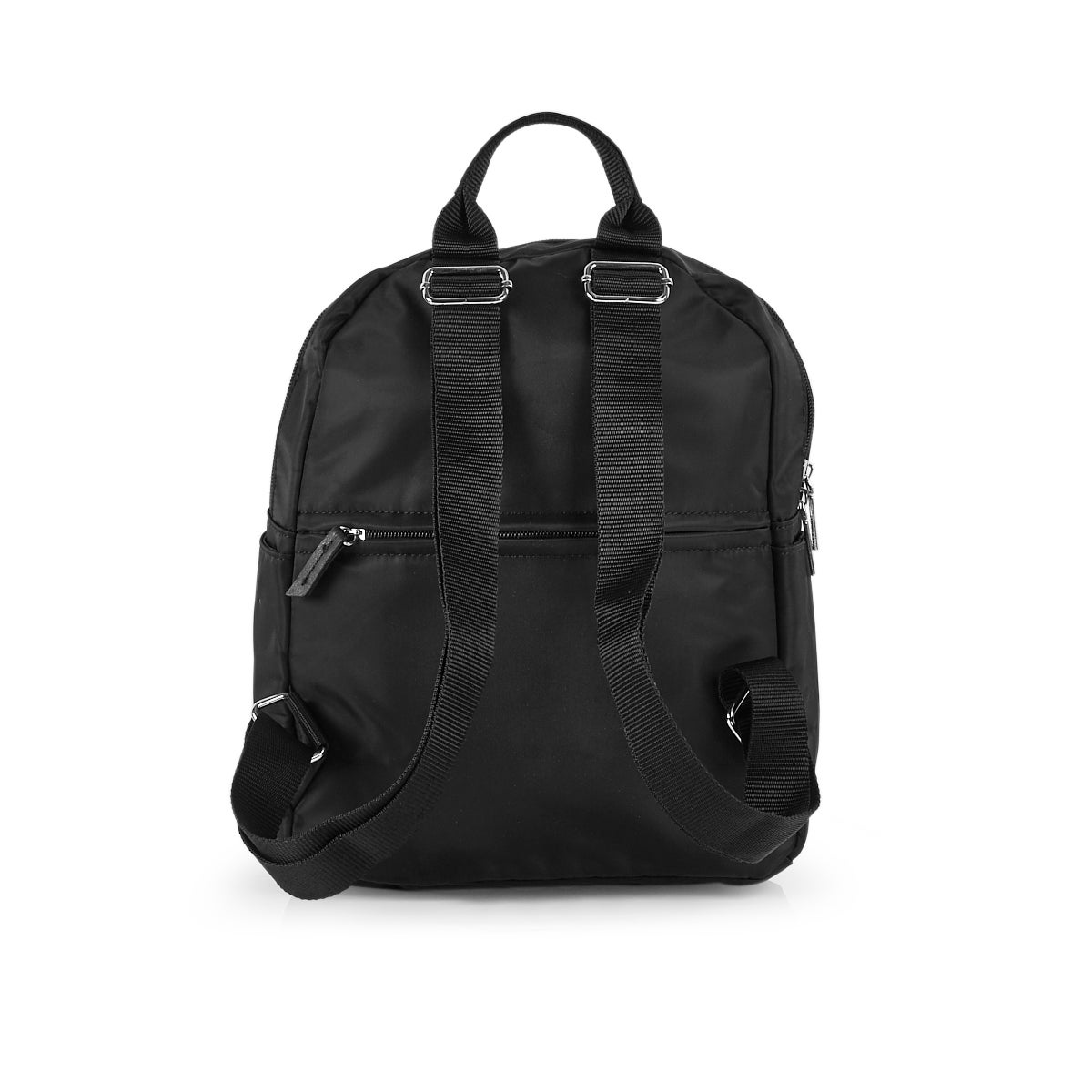 Lds Roots73 blk multi-zip pocket backpck