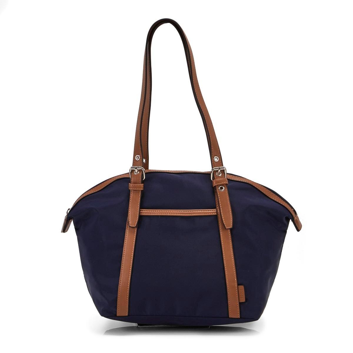 Lds Roots73 navy round top shoulder bag
