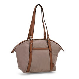 Roots Women's R5888 taupe round top shoulder bag