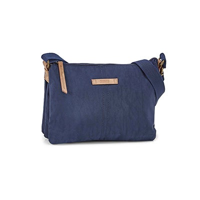 Roots Women's R5889 navy crossbody bag