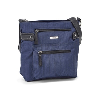 Roots Women's R5932 navy crossbody bag