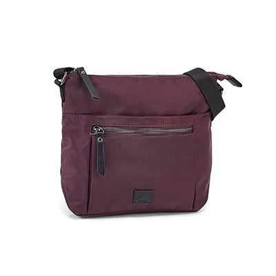 Roots Women's R6086 plum crossbody bag