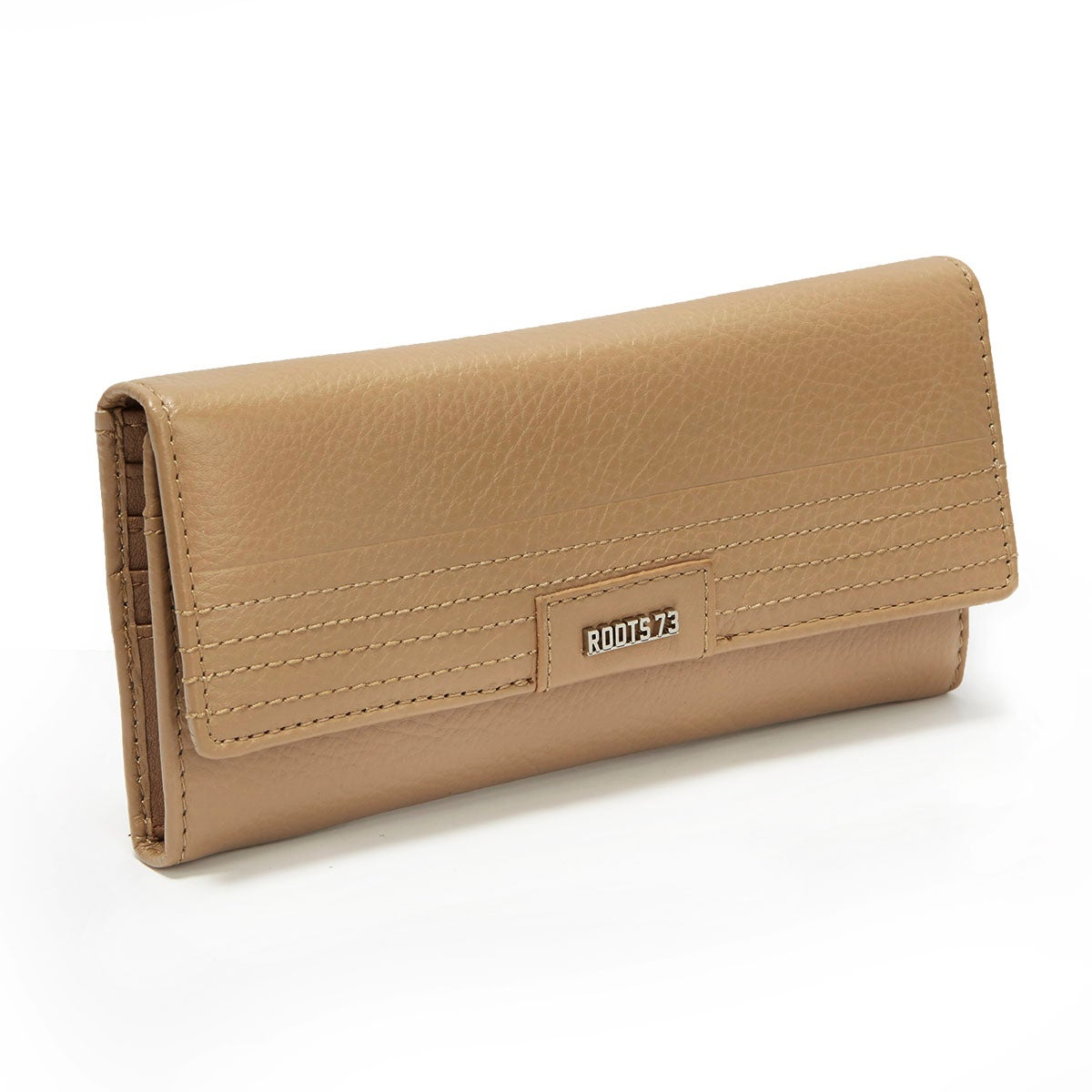 Women's RACER-71S5-CML camel leather wallet