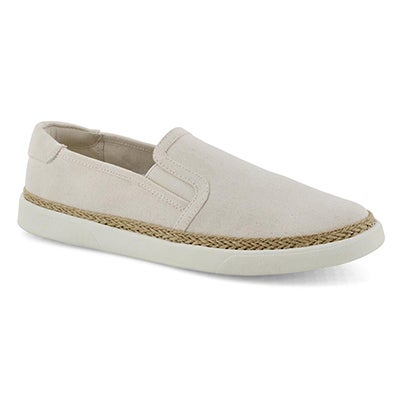 Lds Rae ivory casual slip on shoe