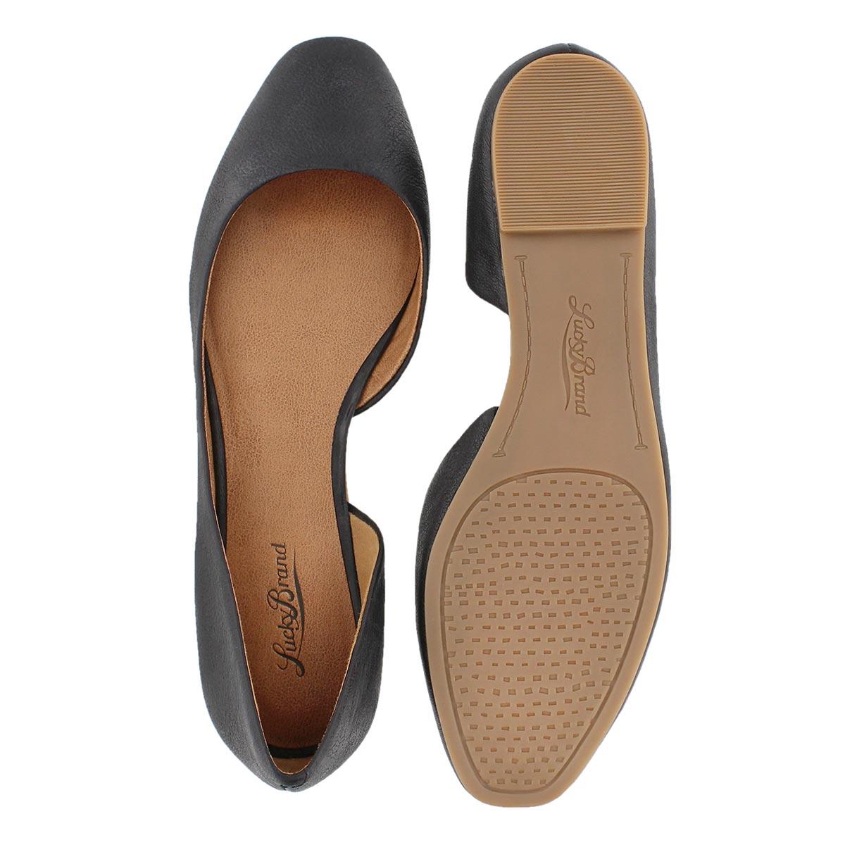 Lds Randall black slip on shoe