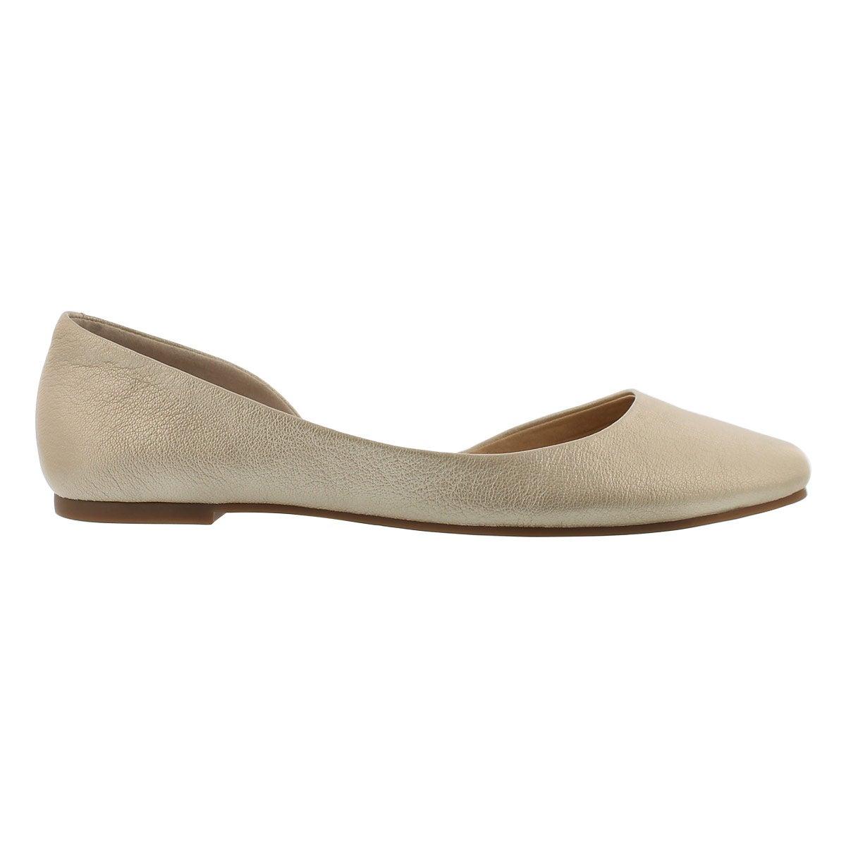 Lds Randall platinum slip on shoe