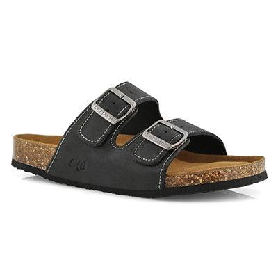 Mns Randitch blk mem foam slide sandal