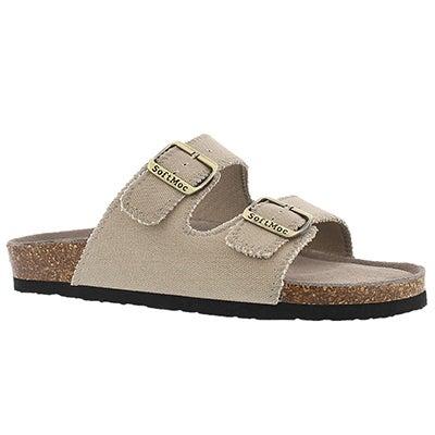Mns Randy3 cvs stn mem foam slide sandal