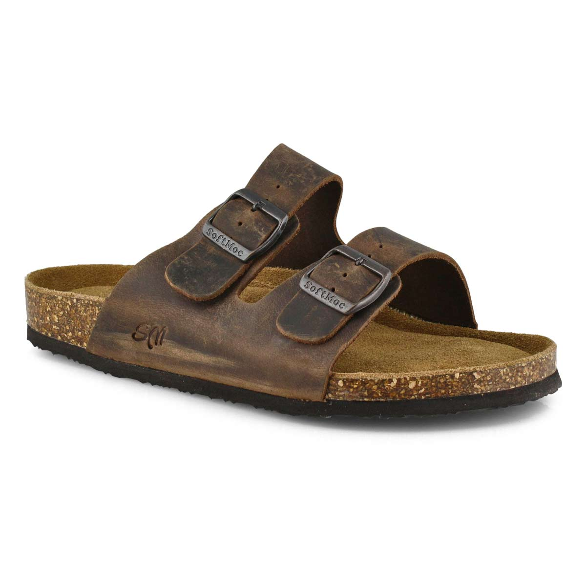 Men's RANDY 5 brown memory foam sandals