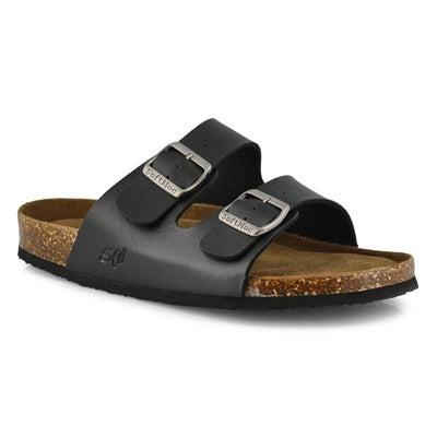 Mns Randy 5 PU black memory foam sandal