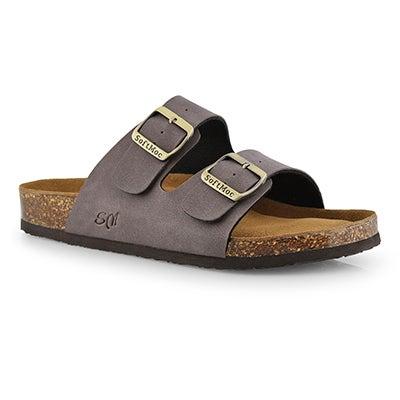 Mns Randy 5 PU mcha memory foam sandal