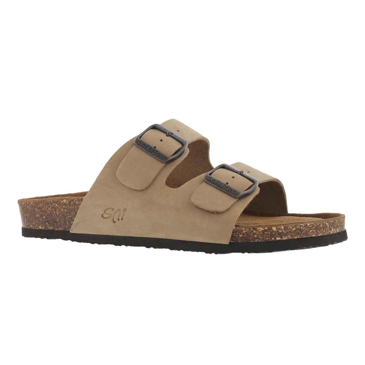 Men's RANDY 5 taupe memory foam sandals