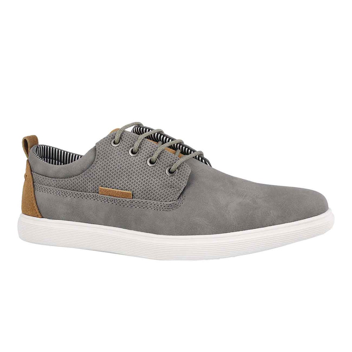Men's RANGLE grey lace up casual oxfords