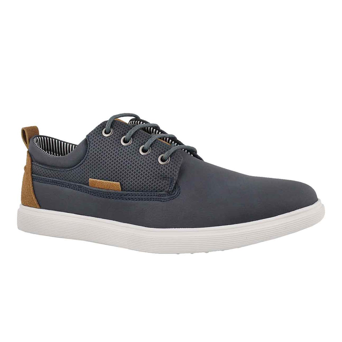 Men's RANGLE navy lace up casual oxfords