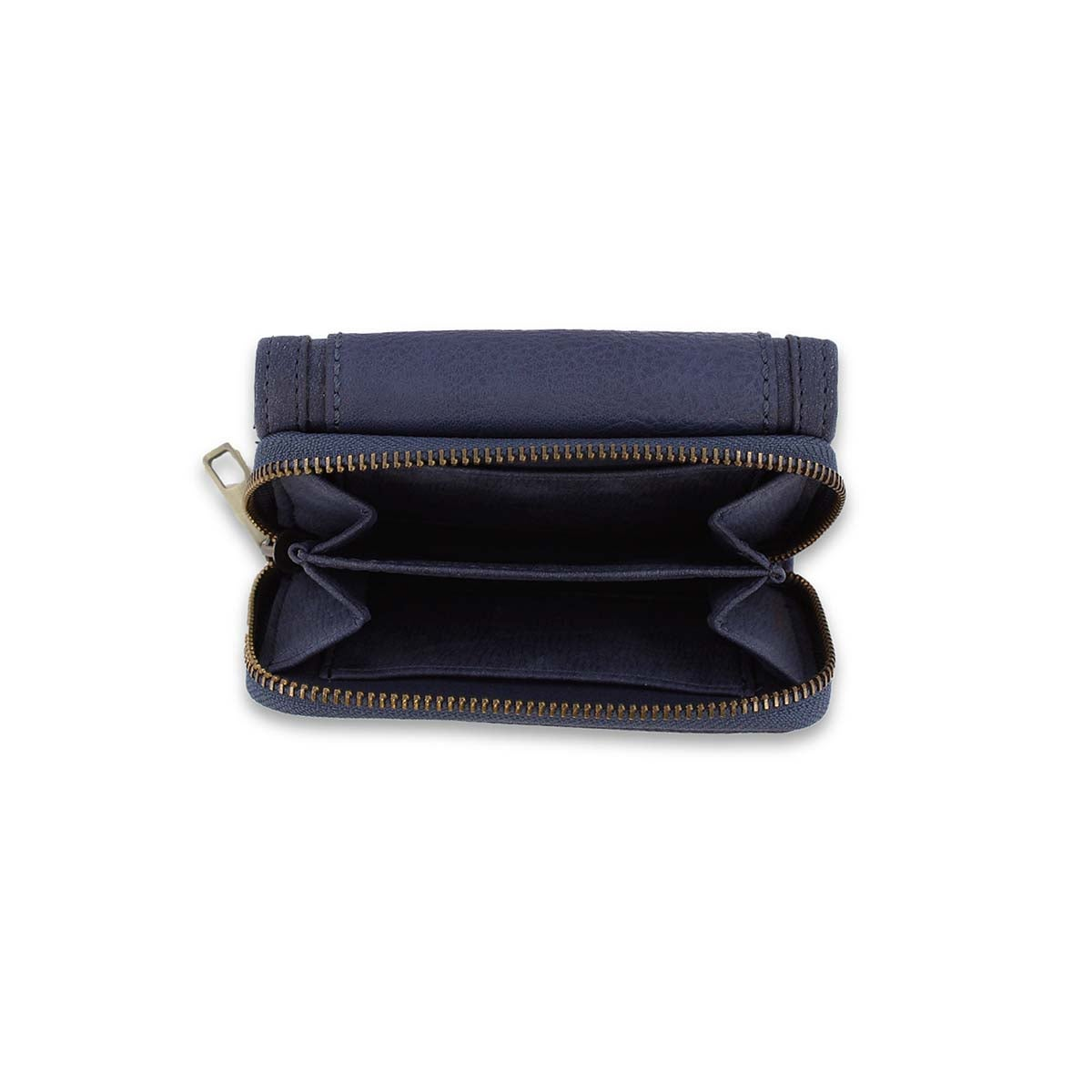 Lds Cliff navy trifold wallet