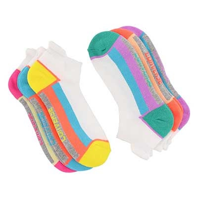 Lds Converse Colorblock multi sock- 6pk