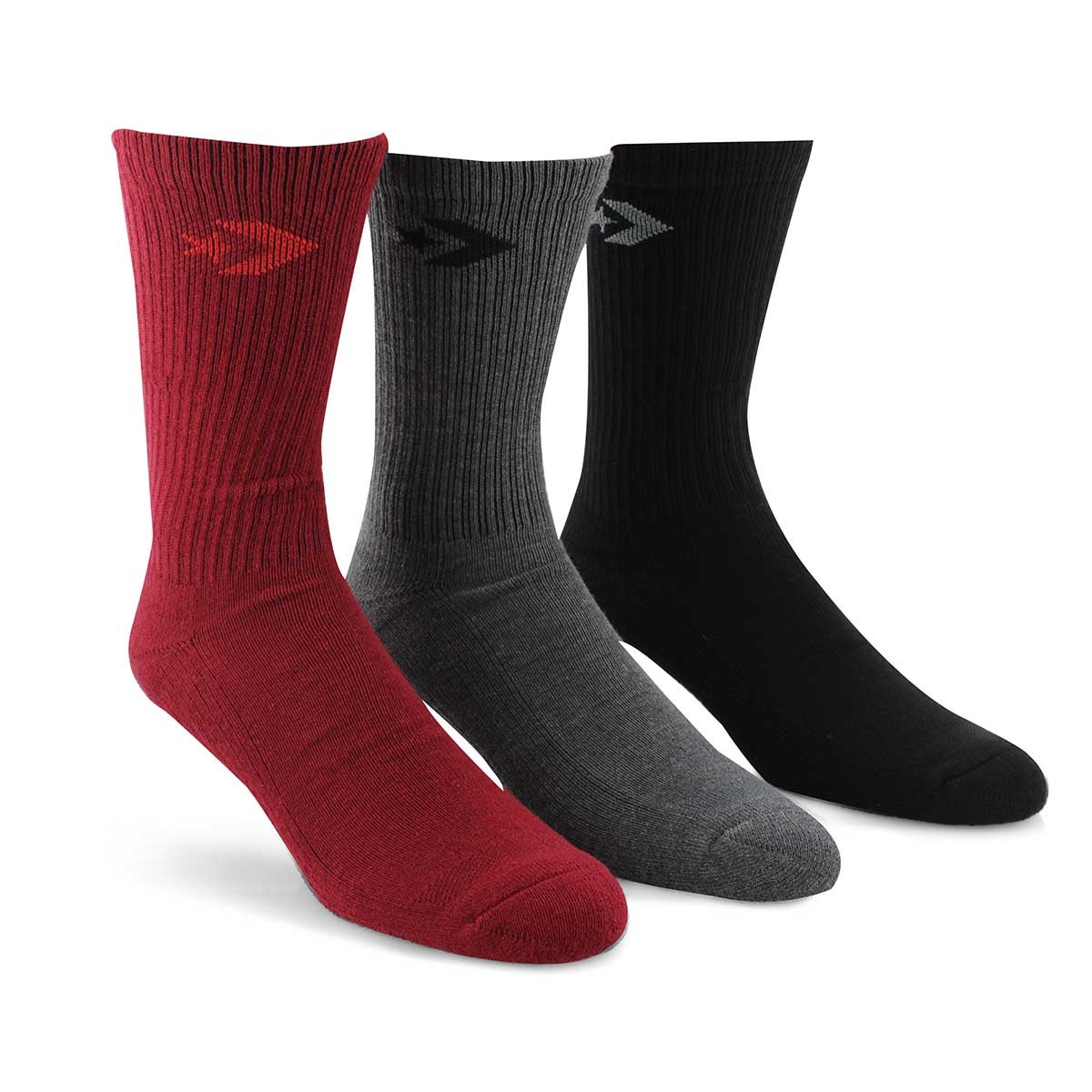 Mns Crew Classic multi sock 3 pk