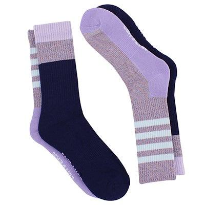 Converse Women's CONVERSE indigo crew socks - 2 pk