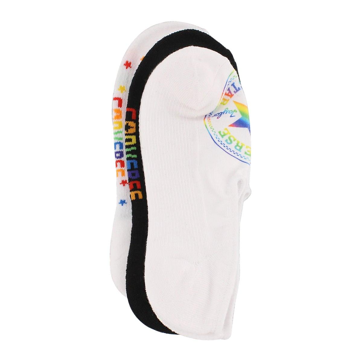 Women's PRIDE LADIES mulit colour socks - 3 pack