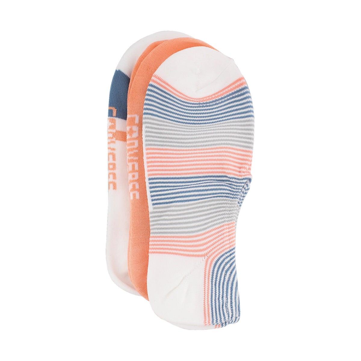 Women's STAHHS-N-STRIPES mulit colour sock- 3 pack