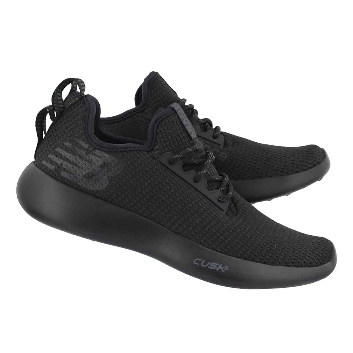 Mns Recovery black/black lace up sneaker