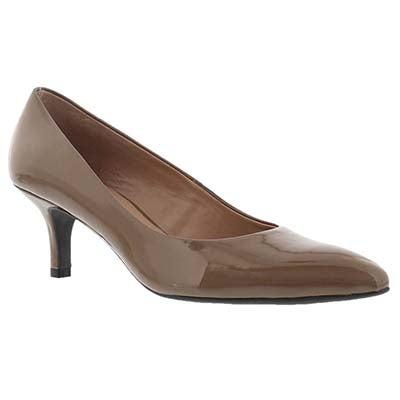 Franco Sarto Women's REMA mohair patent dress heels