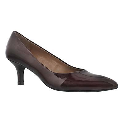 Franco Sarto Women's REMA mulberry patent dress heels