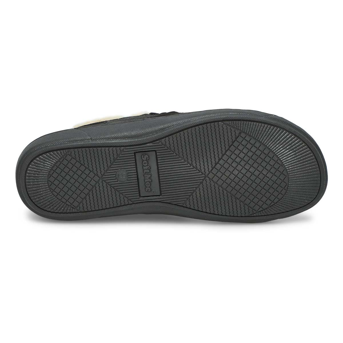 Mns Repete black memory foam slipper