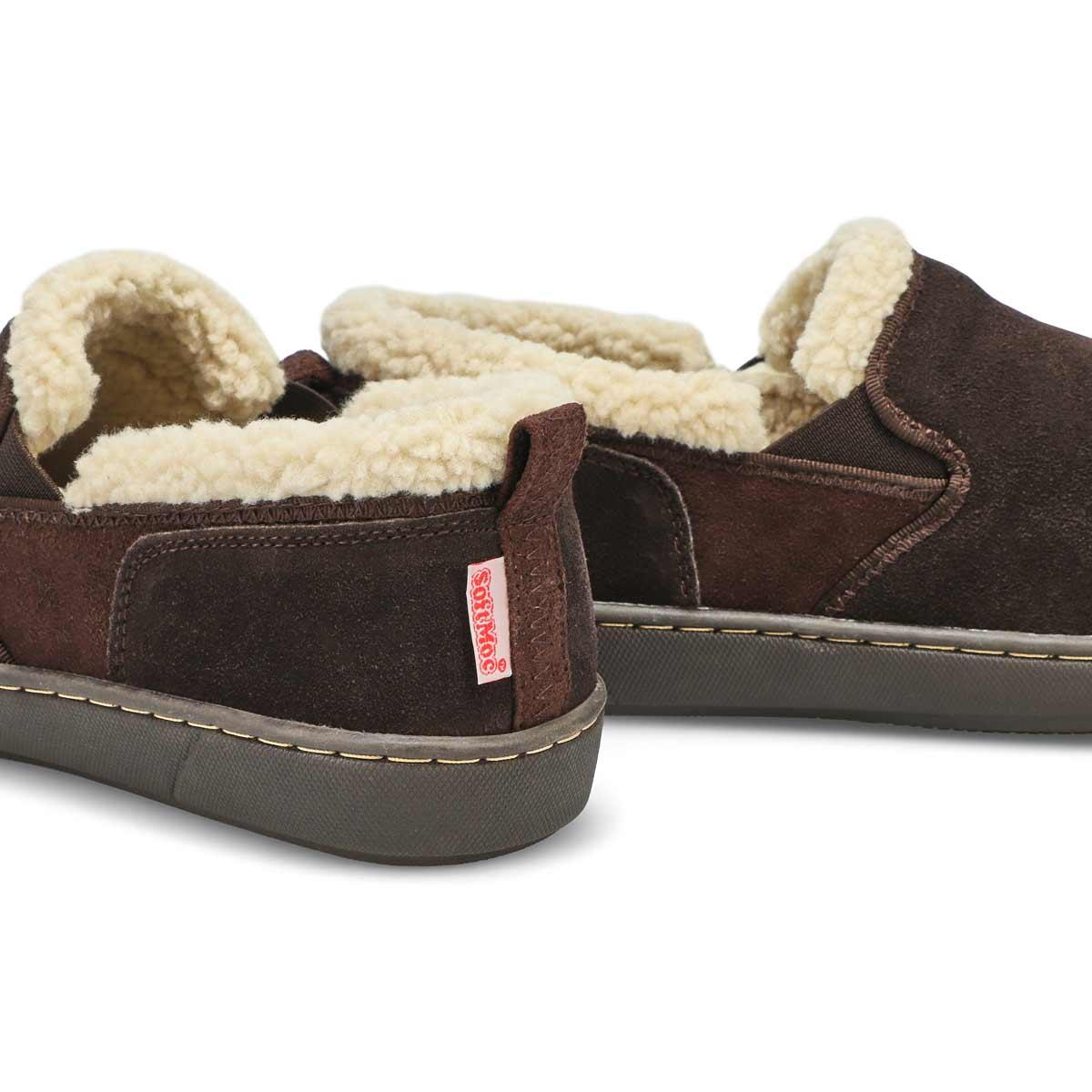 Mns Repete rootbeer memory foam slipper