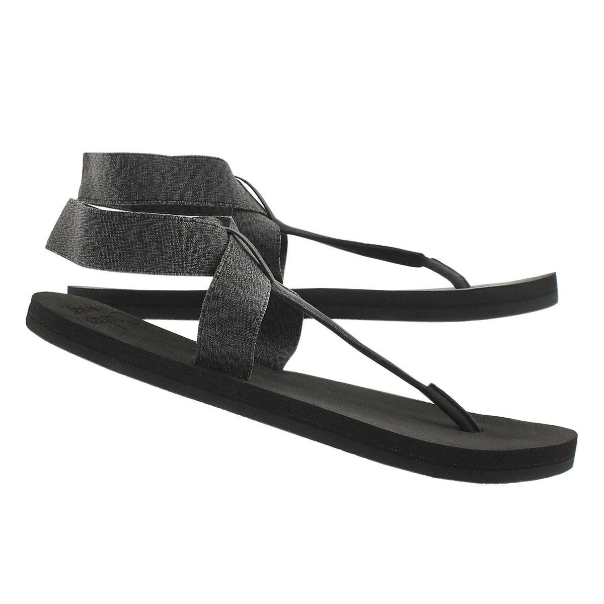 Sandale tong Cushion Moon, noir, femmes